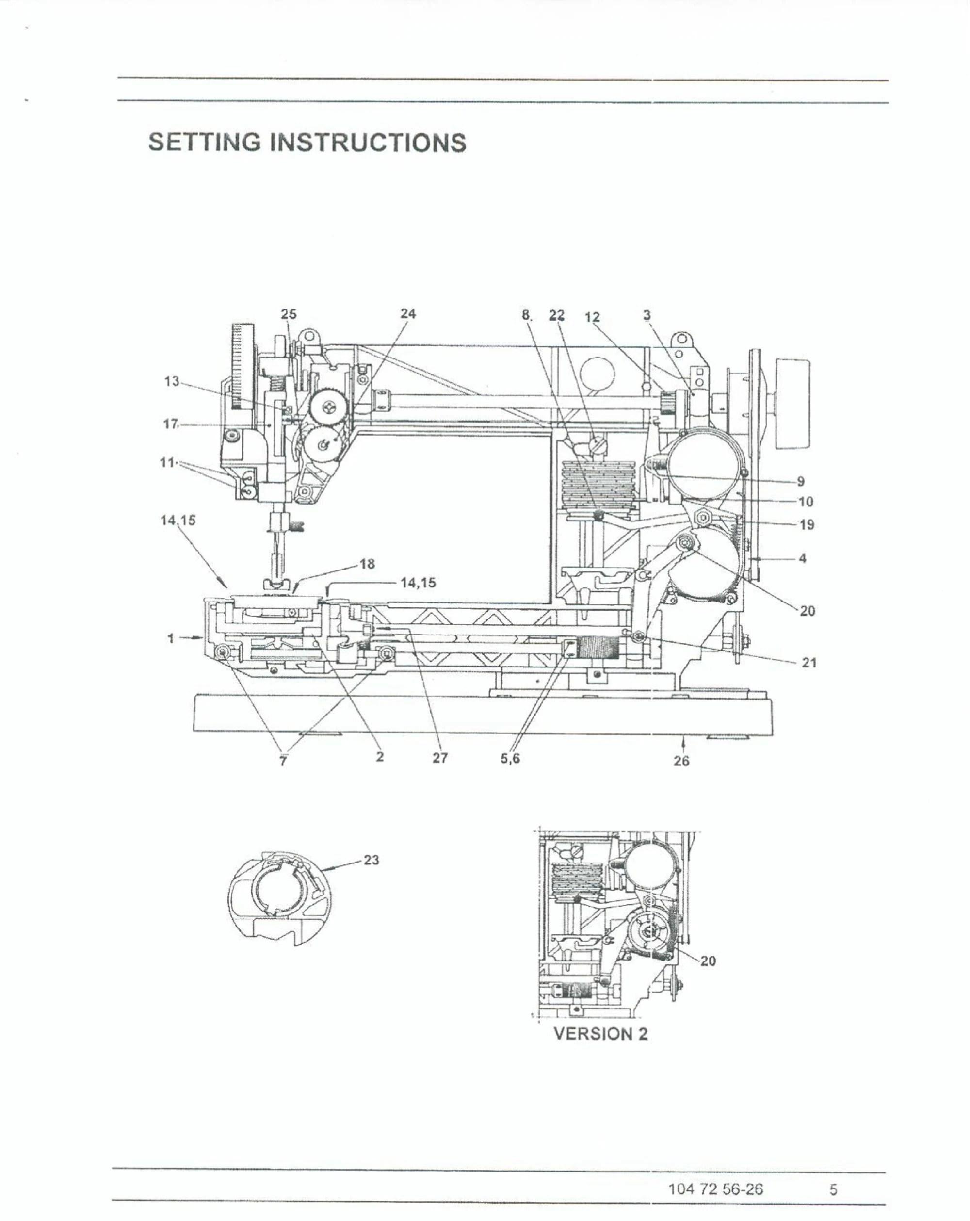 Digital Husqvarna Viking Sewing Machine Service Repair