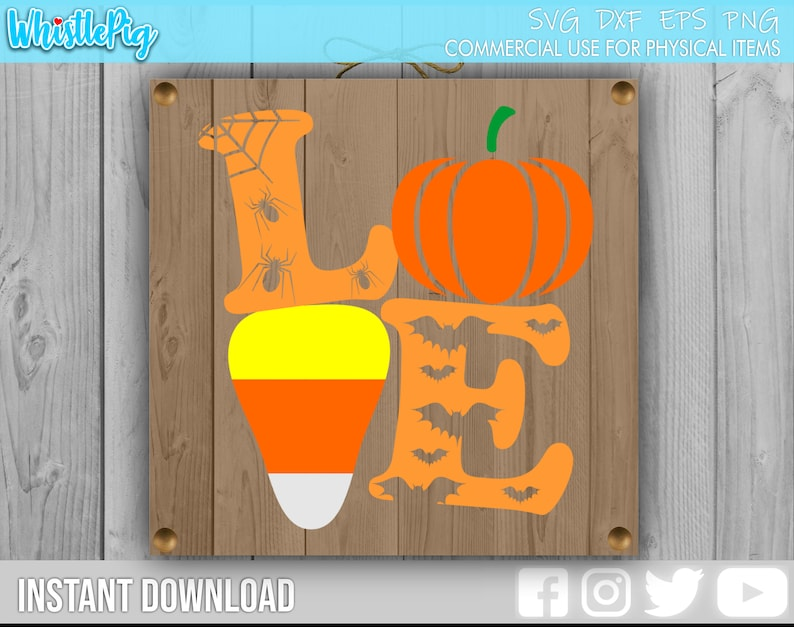 Download Love Halloween SVG Halloween svg Candy Corn Svg Pumpkin ...
