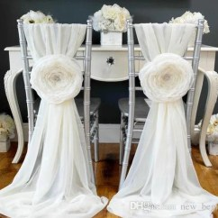 Wedding Chair Sash Graco High Tray Cover Etsy Chiffon Table Decor