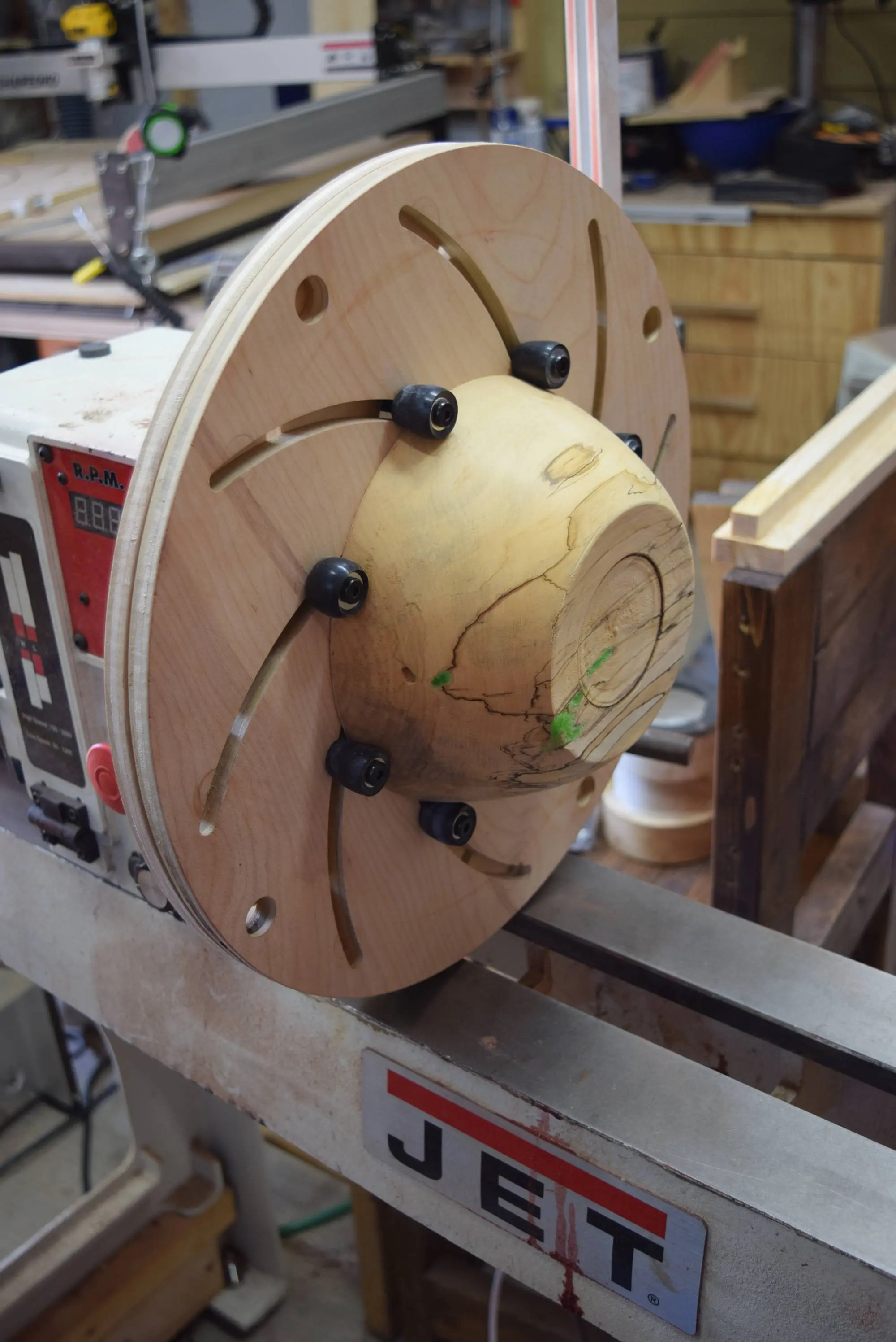 10 Inch Lathe Faceplate