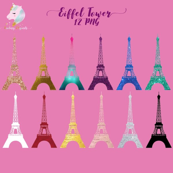 Eiffel Tower Clipart Paris Clip Art French France