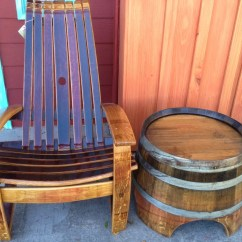 Wine Barrel Chair Gym Exercise System Chairs Whiskey Comfortable Etsy Image 0