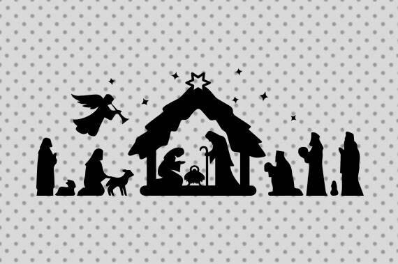 Download Nativity svg Nativity cricut Jesus svg Jesus cricut | Etsy