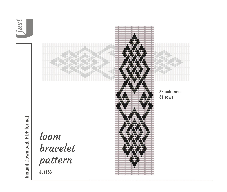 Loom bracelet pattern beaded bracelet celtic bead pattern