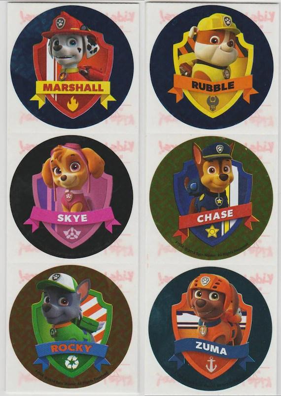 Paw Patrol Badge : patrol, badge, Patrol, Badge, Stickers, 25-inch