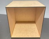 Ada Dollhouse Roombox Kit - 1:12 Scale MDF Miniature