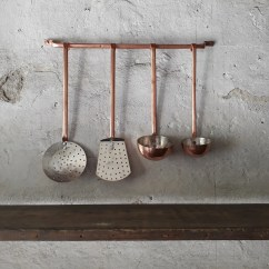 Copper Kitchen Utensil Holder Island Counter Utensils Decor Tools Things Etsy Image 0