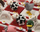 Animal farm country theme candy boxes