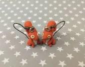 Squirrel earrings