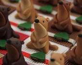 Marmot mountain theme candy boxes