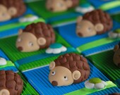 Dragees boxes hedgehogs