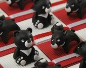Black bear sweets from Taiwan animals Asia theme boxes