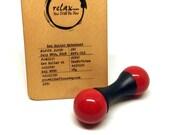 HAL 9000 - Zen Roller v1 | Knuckle Roller | EDC | Fidget Skill Toy | Mindfulness  Toy [ZRV1-012]