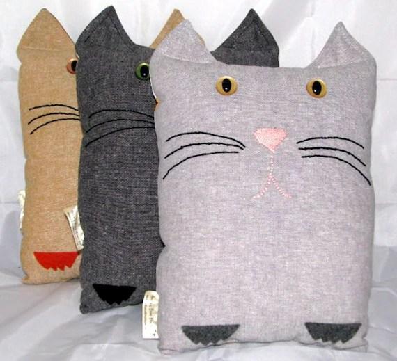 Kitty Pillow, Cat Pillow, Pet Pillow, Cat Decor, Custom Cat Pillow, Ginger Cat, Black Cat, Gray Cat, Crazy Cat Lady, Gift For Cat Lovers