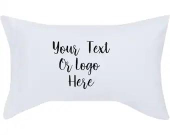custom pillowcase etsy