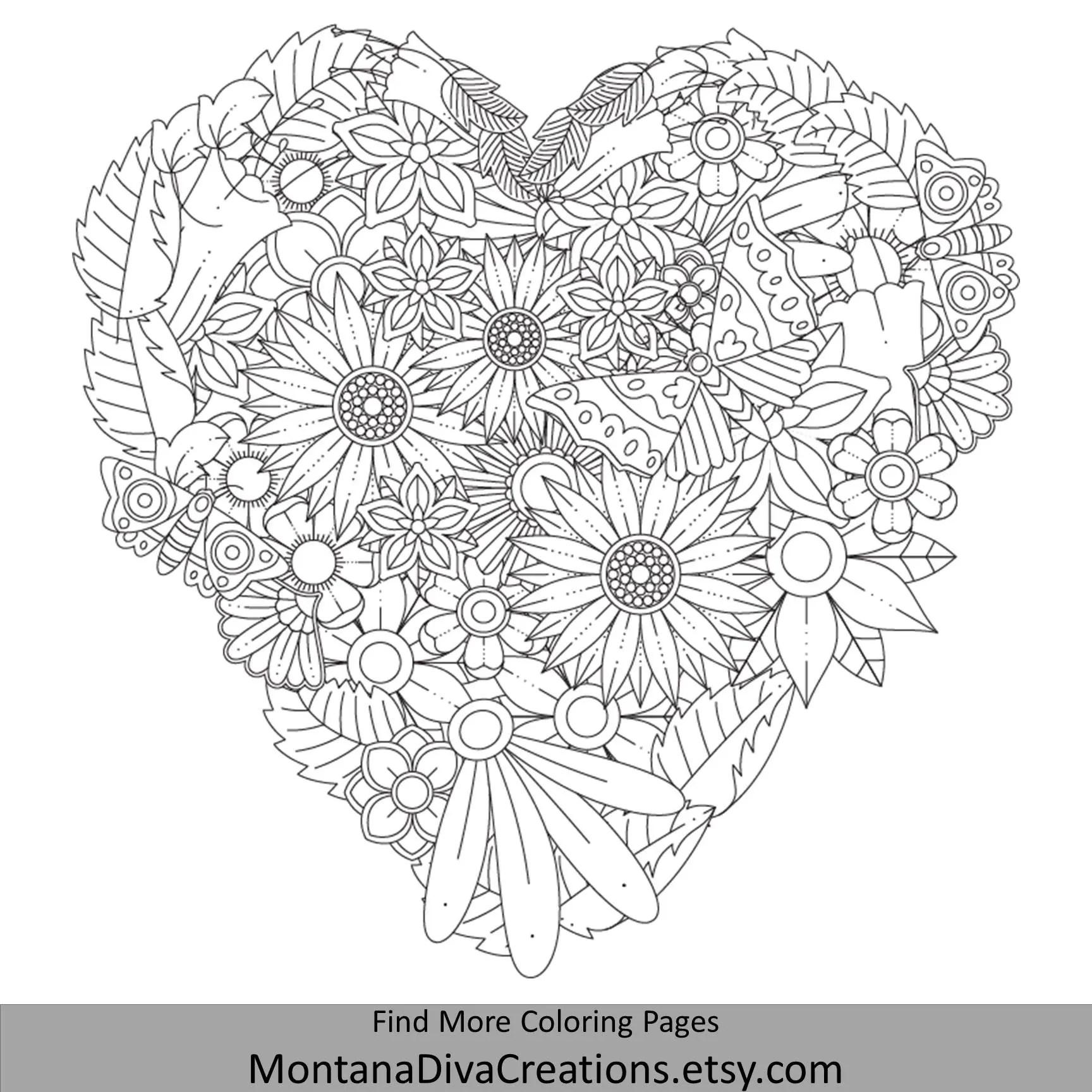 Autumn Mandala Adult Coloring Book 20 Instant Downloadable