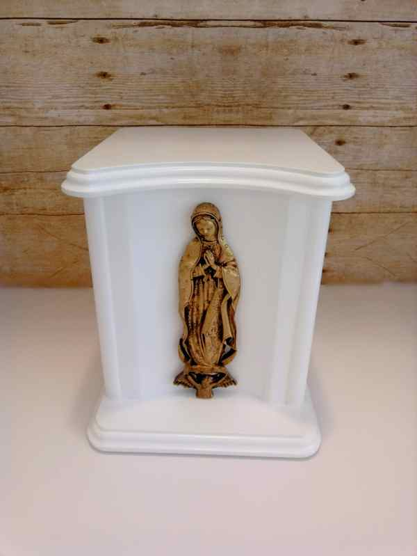 Cremation Urns Ashes Religious Handmade Large Wooden