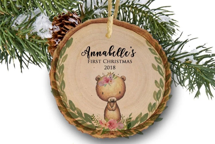 Baby Christmas Ornaments Personalized