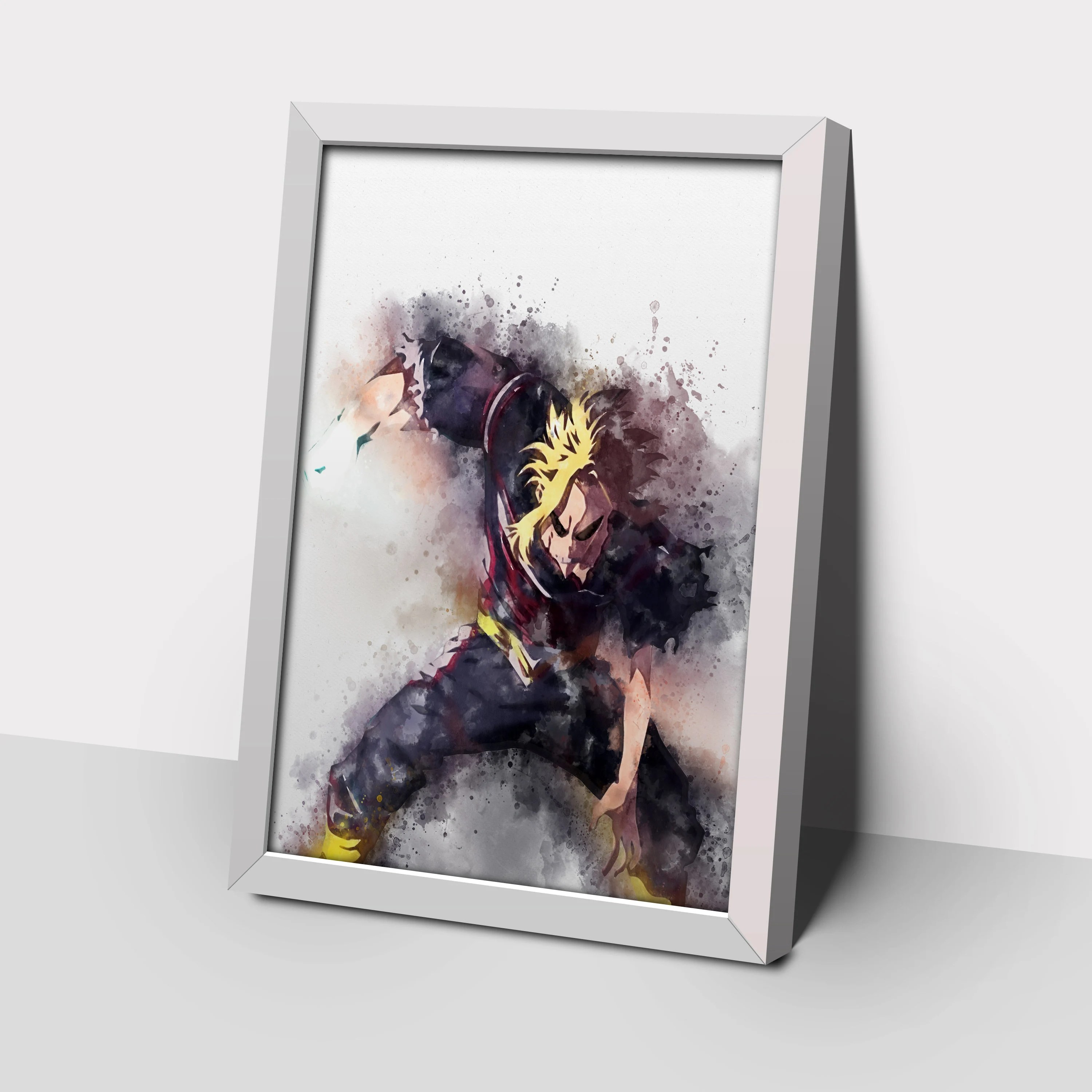 all might poster etsy