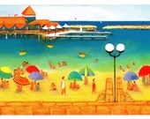 Hillarys Marina - Greeting Card - Pack of 4 cards