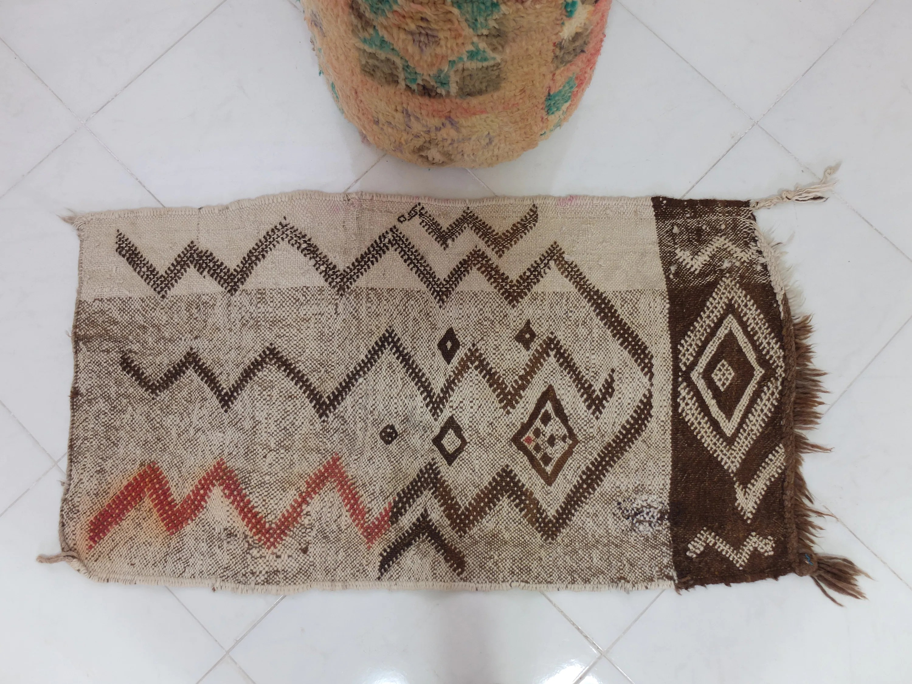 Teppich Vintage Design Small Kilim Moroccan Berber Rug Old Style Kilim Vintage Kilim Flat Woven Teppich Area Rug 45 25 Inches