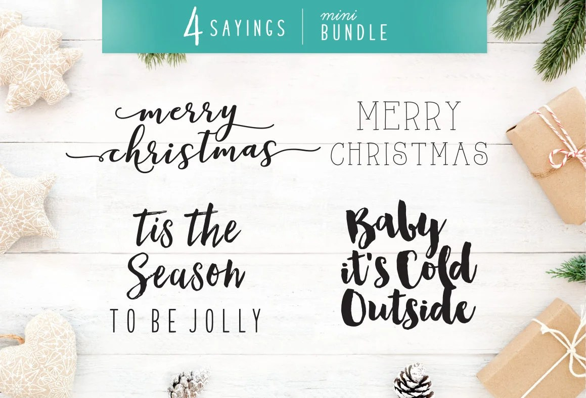 My first christmas svg shaped as a christmas tree! Holiday Svg Christmas Svg Pack 4 Christmas Sayings Svg Bundle Holiday Saying Jpg Eps Dxf Png Cut File For Cricut Clipart Silhouette Clip Art Art Collectibles Sultraline Id