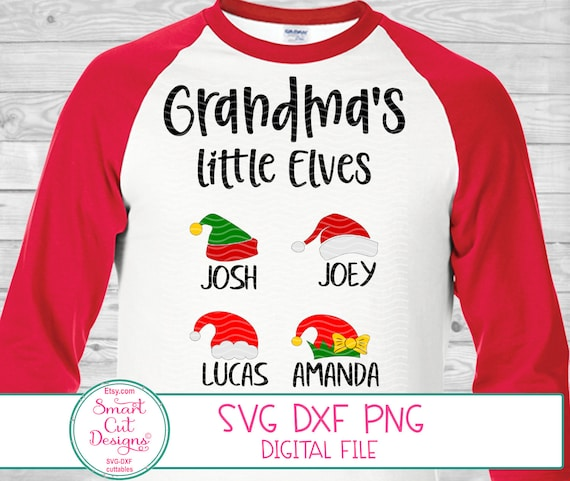 Download Christmas Grandma Shirt Svg Grandma Svg Grandma's Little ...