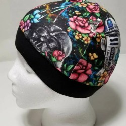 Star Wars Beanie Hats   Vivid Floral Wars   Chemo Hat   Cpap Etsy 1be15cb9024a