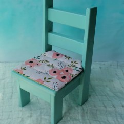 American Doll Chair Leveraged Freedom 18 Inch And Cushion Girl Furniture Etsy Image 0