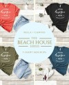 Tshirt Mockup Bundle Bella Canvas Beach House Collection Etsy
