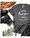 T Shirt Mockup Mega Bundle Fall Autumn Winter Bella Canvas Etsy
