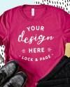 T Shirt Mockup Bella Canvas 3001 Mega Bundle Stylish Abstract Etsy