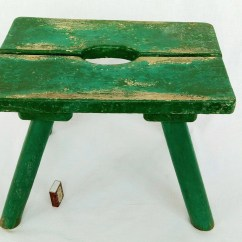 Small Wooden Chair Aeron Care And Maintenance Manual Wood Etsy Old Stool Milking Rural Country Primitive