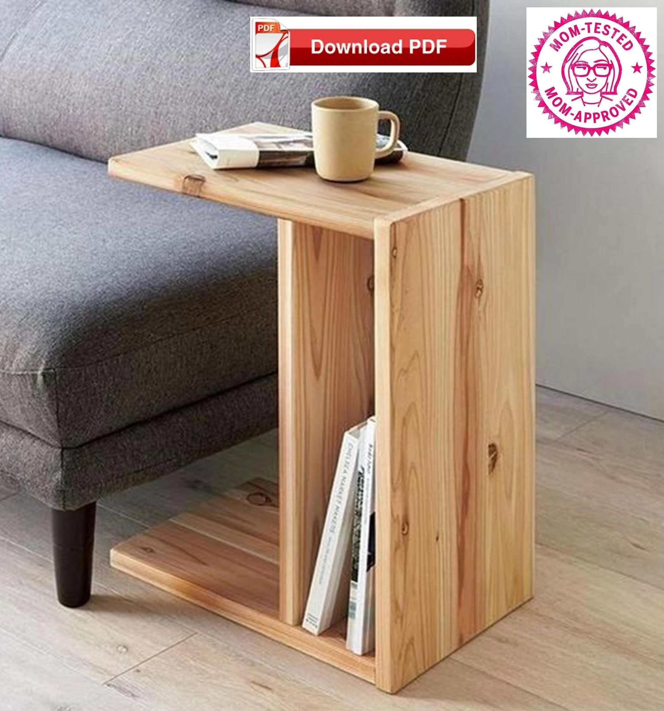 tv tray stand plan book stand plan end table plan sofa arm stand plan sofa stand plan wood tray plan tv stand plan tv tray stand pdf pattern