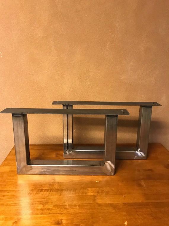 u shape metal table legs end table coffee table dining table legs bench legs handmade table legs custom table base
