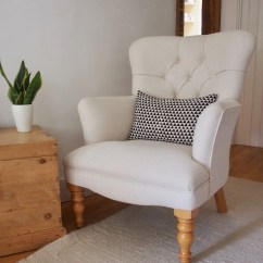John Lewis Loose Chair Covers Chiavari Caps Wholesale Immaculate Grey Cover Armchair From Multiyork Solid Wood Etsy Natural Cream Fully Sprung Victorian Style Nursing Occasional Button Back Made In The Uk Rp 800