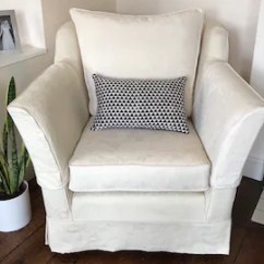 John Lewis Loose Chair Covers Outdoor Furniture Chairs Immaculate Armchair Natural Cream Fully Sprung Etsy Cover Damask Jacquard From Multiyork
