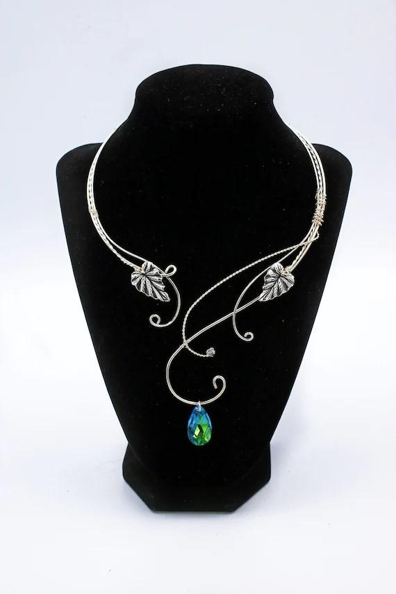 Torque Jewellery : torque, jewellery, ELVEN, JEWELRY, Elven, Necklace, Fairy, Jewelry, Silver, Elvish