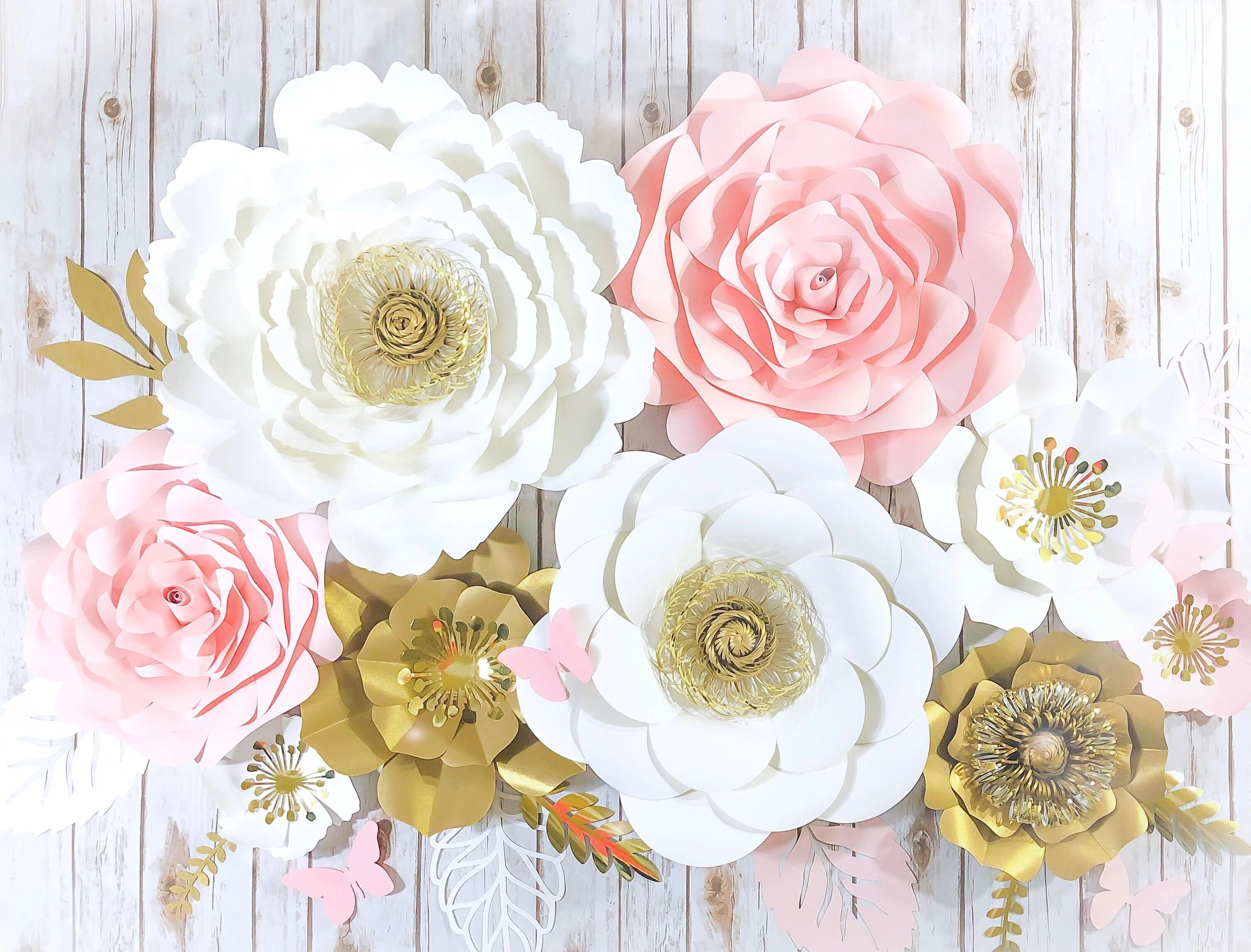 wall flowers etsy