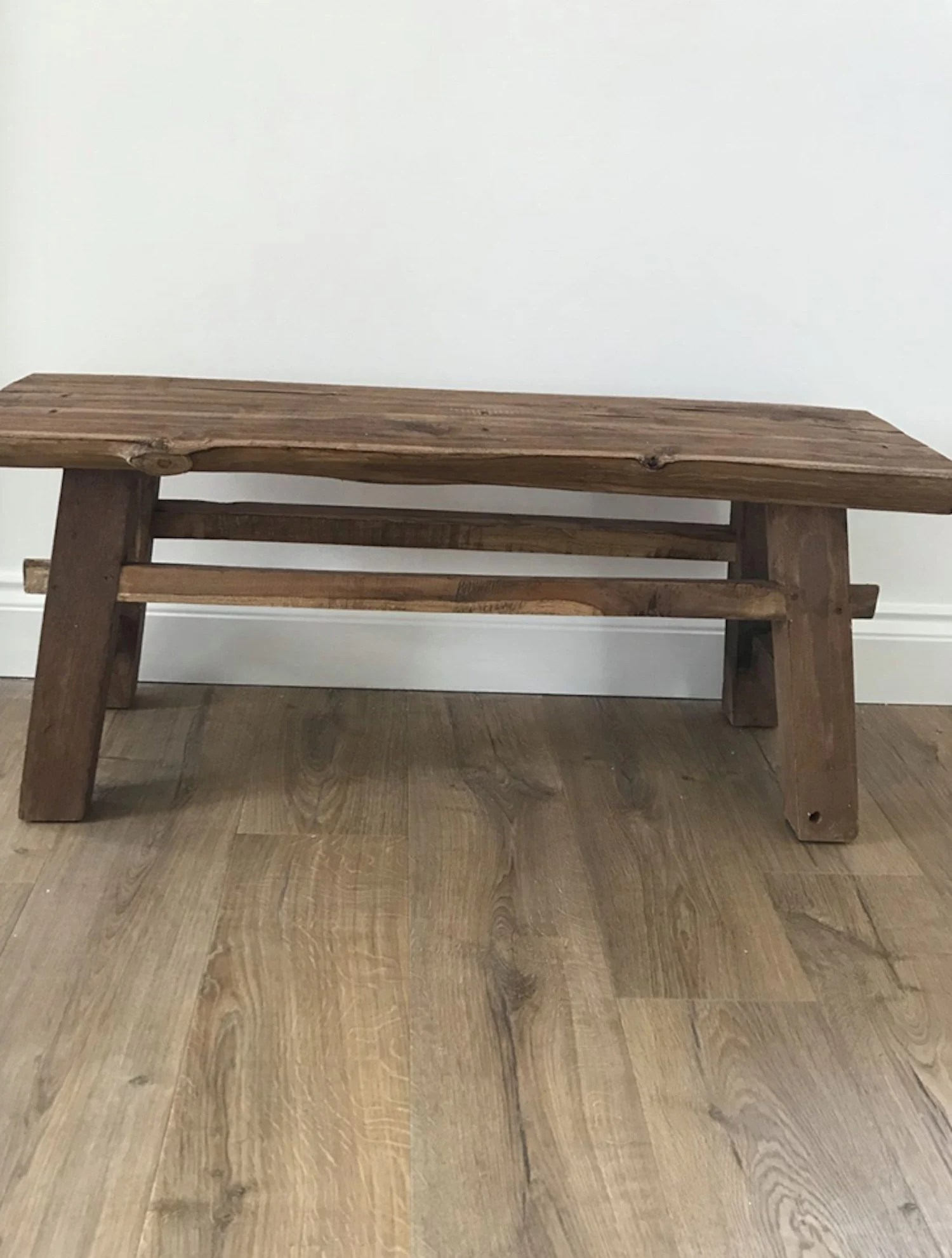 antique wood bench etsy