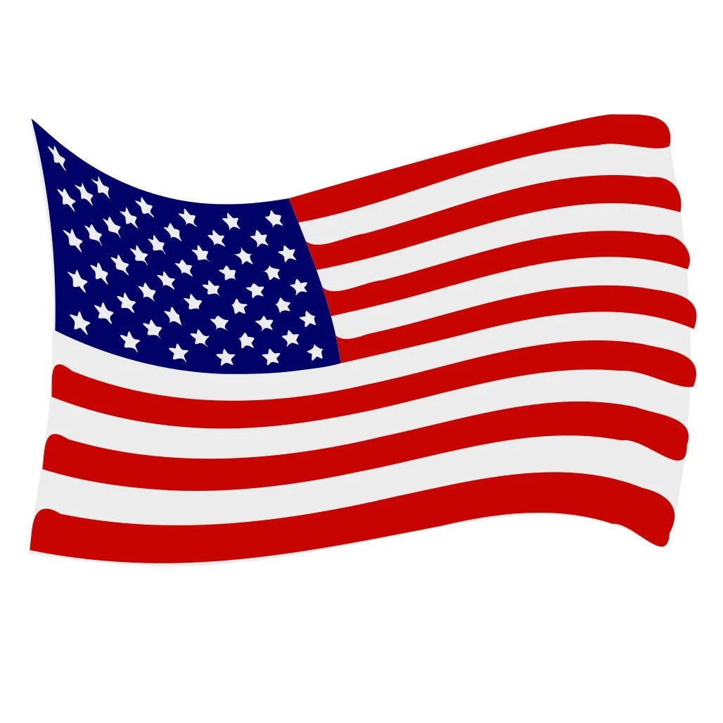 Download American Flag Wave SVG Design Cutting File also includes PNG