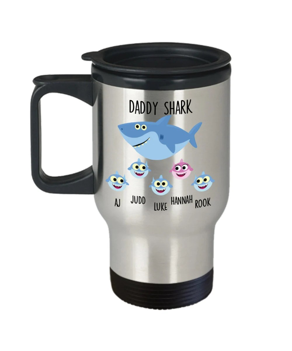 daddy shark gift for