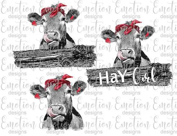 Heifer Please Cow Queen Sublimation Transfer Sublimation