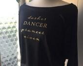 Dasher Dancer Prancer Vixen Holiday Dance Shirt   swing swag dance shirts
