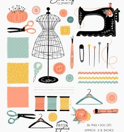 sewing clipart [ 794 x 1003 Pixel ]
