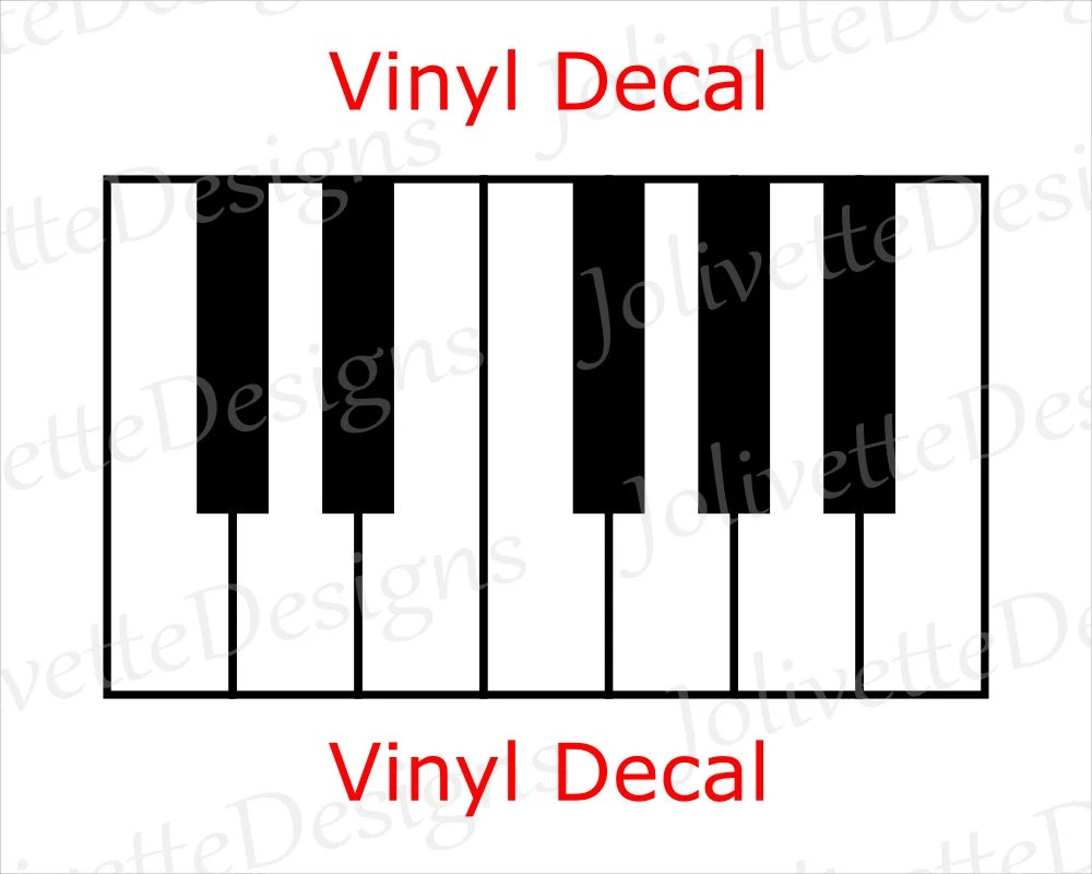 piano keys etsy