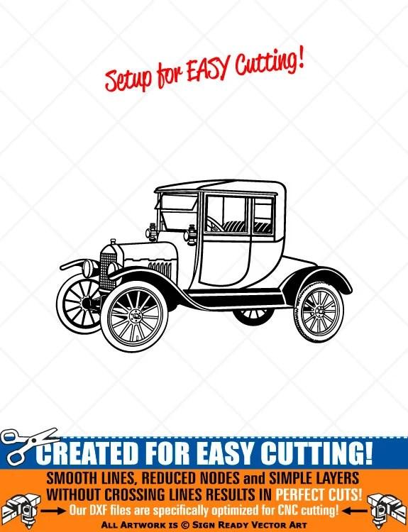 Vintage Car Clipart : vintage, clipart, Model-T, Highboy, Vintage, Clipart, Vector