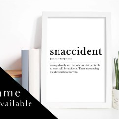 Kitchen Prints Models Print Etsy Snaccident Wall With Or Without Frame Home Decor Art Hungry Hangry Meaning