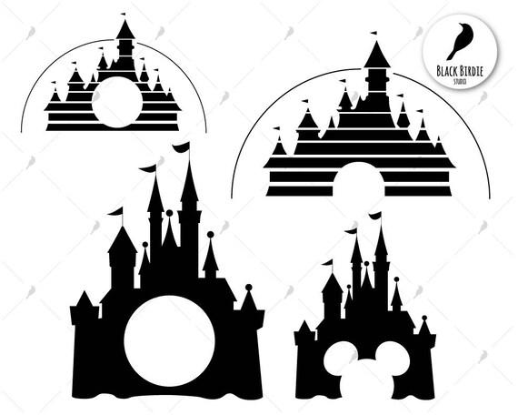 Disney castle svg disney castle clipart disney palace svg
