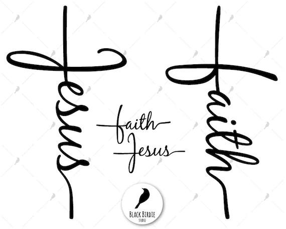 Faith Cross Svg Jesus Cross Svg Faith Svg Jesus Svg Jesus